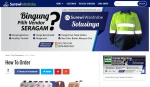 Konveksi Seragam Kerja Jakarta